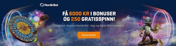 De beste sidene for Roulette i Norge 2018