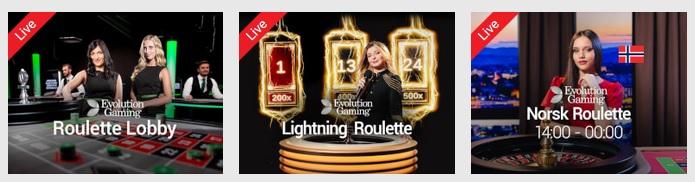 Hvor du kan spille roulette online 2020