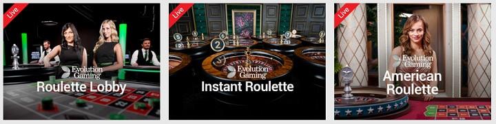spille roulette online