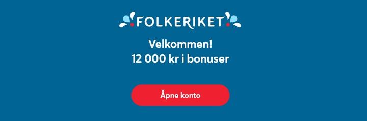 bonus på Folkeriket.com