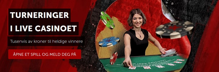 Spill Live casino på Betsafe